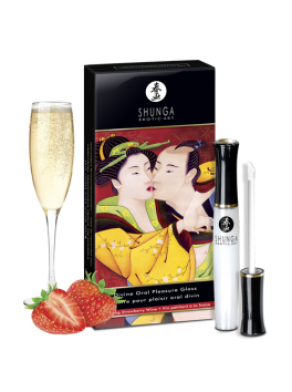 Divine Oral Pleasure Gloss - Sparkling Strawberry Wine