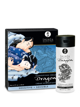 SHUNGA Dragon SENSITIVE - Intensifying cream for couple