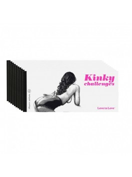 Chequier Kinky challenges by Apollonia Saintclair love to love