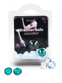 Cold effect brazilian balls Boules brésiliennes de massage erotique effet froid