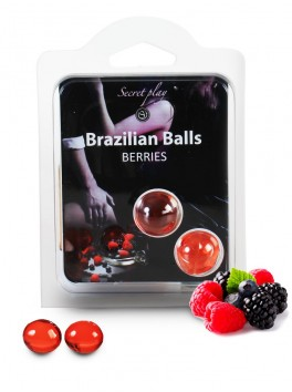 Brazilian balls Boules bréziliennes de massage erotique aux fruits des bois