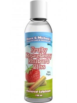 Lubrifiant V&M Saveur Fraise Rhubarbe - 150ml