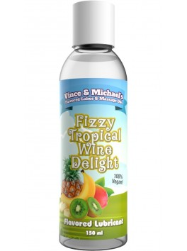 Lubricant Flavored Delight Fizzy Tropical Wine - 150ml