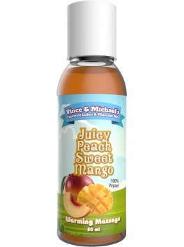 V&M Flavored Mango - Juicy Peach sweet Lubricant 50ml