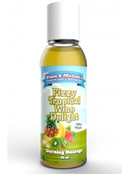Massage oils Fizzy Tropical Wine Delight V&M 50ml