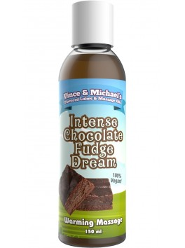 Warming oil V&M Chocolate Fudge intense - 150ml