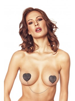 Orsi Heart Nipples - Black