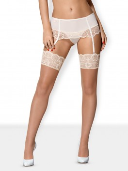 874-STO-2 Ivory Stockings - Wedding Collection