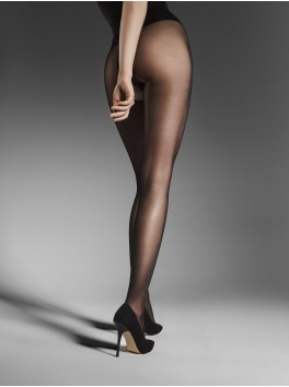 Wholesale Fiore open Tights Ouvert black 20 den