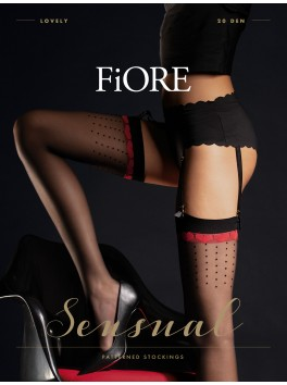 Favorita Stockings 20 den - Black