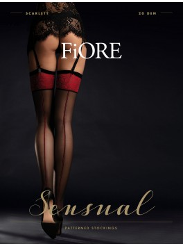 Scarlet Stockings 20 den - Black