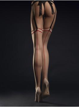 Madame Bas 20 DEN - Nude & Rouge