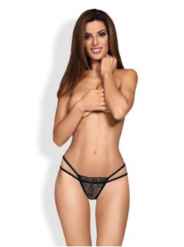 879-THO-1 Thong - Black