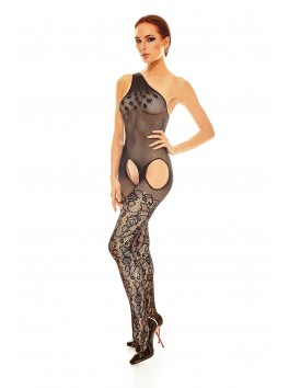 Elodi Bodystocking - Black