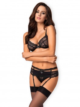 Heartina Set 3 pieces - Black