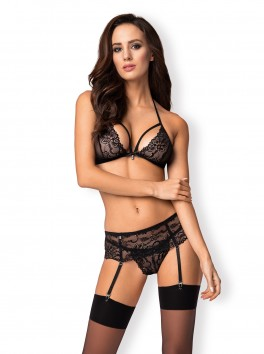 838-SEG-1 Ensemble 3 pcs - Noir