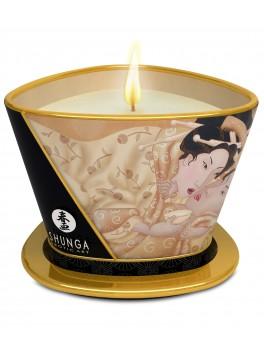 Bougie de massage lueur et caresses - desire / vanille