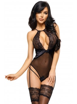 Laurienne teddy - Black