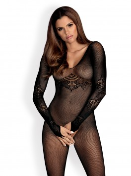 F235 Bodystocking - Black