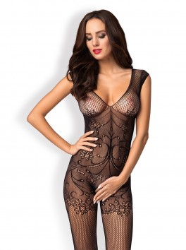F233 Bodystocking - Black