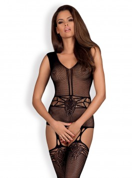 F234 Bodystocking - Noir
