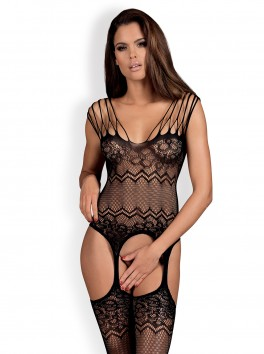 G316 Bodystocking - Black