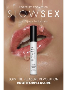 Mouthwatering spray from Slow Sex collection by Bijoux Indiscrets