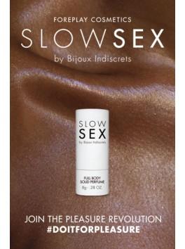 Parfum solide intime senteur coco Slow Sex Bijoux Indiscrets