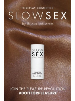 Intimate Solid Perfume - Slow Sex - 8g