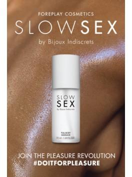 Gel de massage pour tout le corps gamme Slow Sex Bijoux Indiscrets