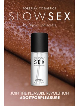 Warming massage oil - Slow Sex