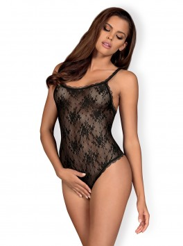 Behindy Teddy crotchless - Black
