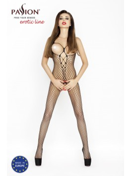 BS013 Bodystocking - Black
