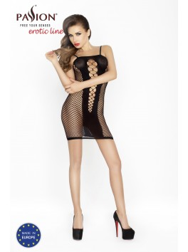 BS025 Bodystocking - Noir