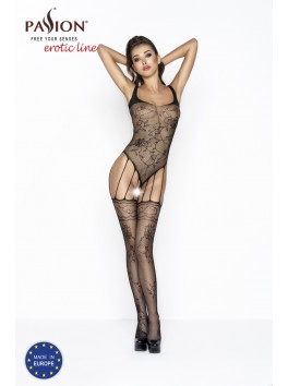 BS034 Bodystocking - Black