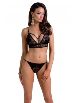 Meredith set of 3 pcs crothless - Black