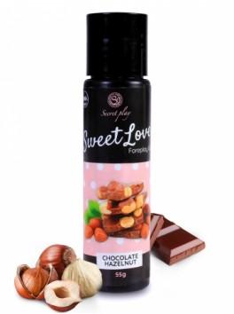 Lubrifiant comestible Chocolat noisette 3673 - 60 ml