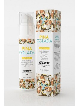 Warming Pina Colada gourmet oil - 50ml