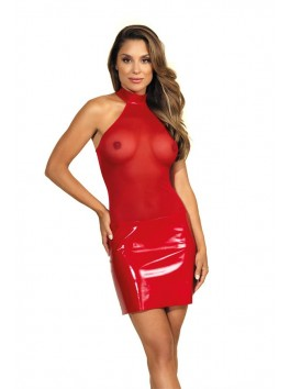 V-9119 Dress - red