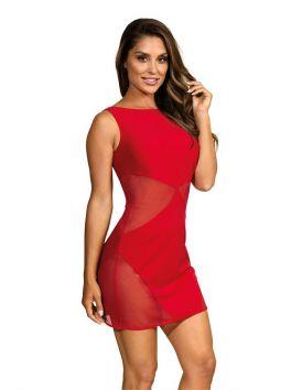 V-9259 Dress - Red