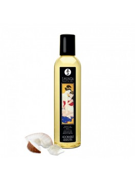 Erotic Massage oil - Romance - Sparkling Strawberry Wine Shunga