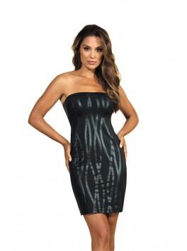 V-9109 Dress - Black