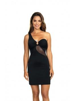 V-9099 Dress - Black