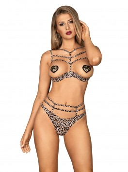Selvy set 2 pcs cupless - Animal printed