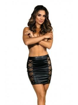 V-9329 Skirt - Black