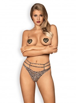 Selvy nipple covers Animal printed