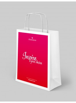 Obsessive small paper shopping bag