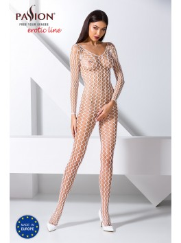 BS068W Bodystocking - White