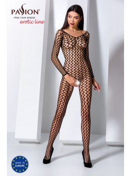 BS068R Bodystocking - Red