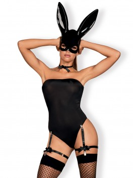 Bunny Costume - Black